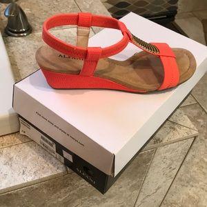 Alfani coral sandals